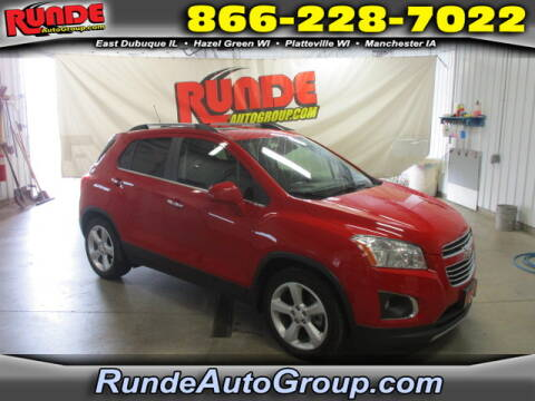 2015 Chevrolet Trax for sale at Runde Chevrolet in East Dubuque IL