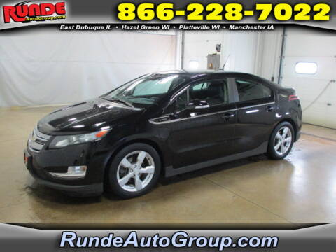 2012 Chevrolet Volt for sale at Runde Chevrolet in East Dubuque IL