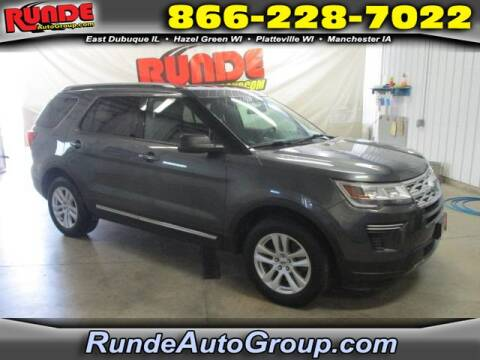 2018 Ford Explorer for sale at Runde Chevrolet in East Dubuque IL