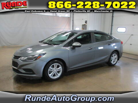 2018 Chevrolet Cruze for sale at Runde Chevrolet in East Dubuque IL