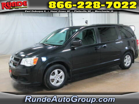 2013 Dodge Grand Caravan for sale at Runde Chevrolet in East Dubuque IL