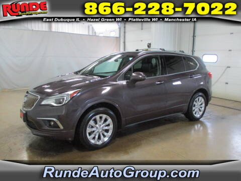 2017 Buick Envision for sale at Runde Chevrolet in East Dubuque IL