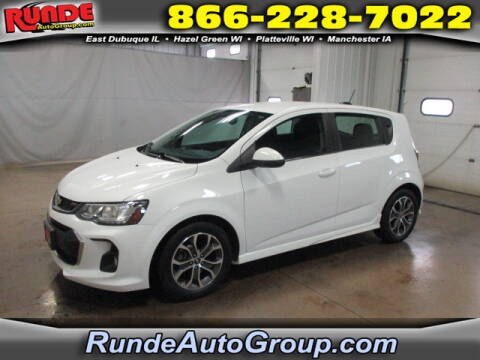 2017 Chevrolet Sonic for sale at Runde Chevrolet in East Dubuque IL