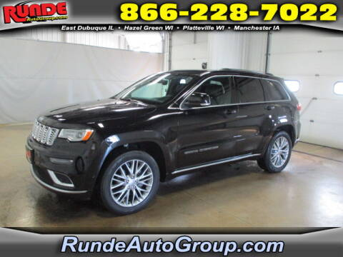 2017 Jeep Grand Cherokee for sale at Runde Chevrolet in East Dubuque IL