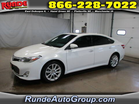 2013 Toyota Avalon for sale at Runde Chevrolet in East Dubuque IL