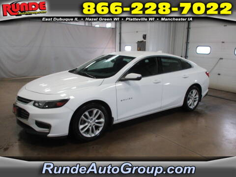 2017 Chevrolet Malibu for sale at Runde Chevrolet in East Dubuque IL