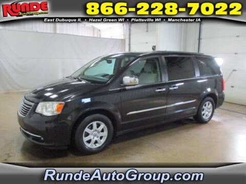 2013 Chrysler Town and Country for sale at Runde Chevrolet in East Dubuque IL