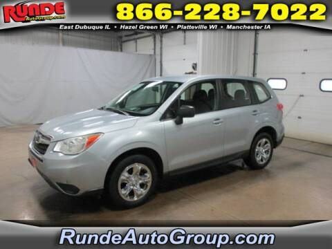 2014 Subaru Forester for sale at Runde Chevrolet in East Dubuque IL