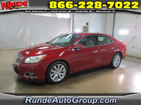 2013 Chevrolet Malibu for sale at Runde Chevrolet in East Dubuque IL