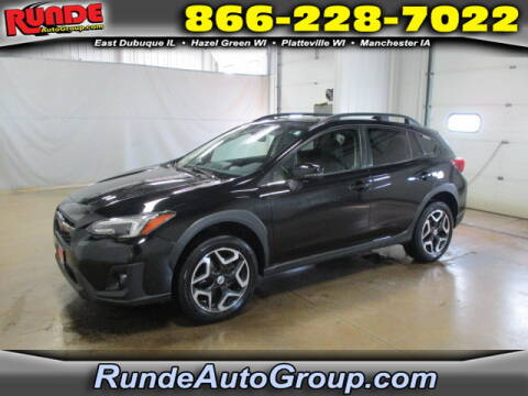 2018 Subaru Crosstrek for sale at Runde Chevrolet in East Dubuque IL