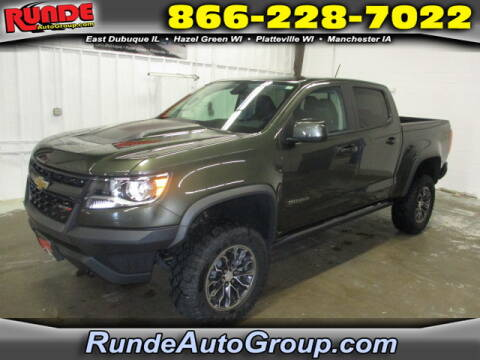2017 Chevrolet Colorado for sale at Runde Chevrolet in East Dubuque IL