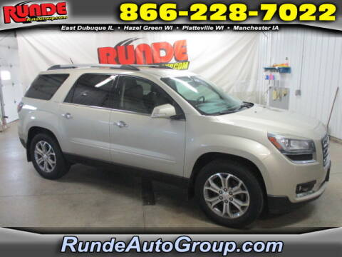 2015 GMC Acadia for sale at Runde Chevrolet in East Dubuque IL