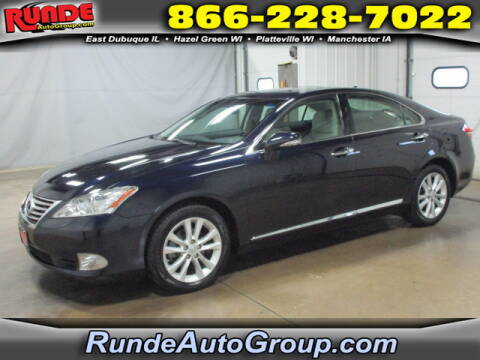 2010 Lexus ES 350 for sale at Runde Chevrolet in East Dubuque IL