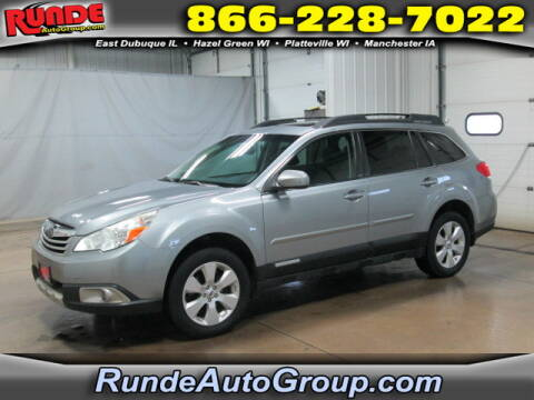 2011 Subaru Outback for sale at Runde Chevrolet in East Dubuque IL