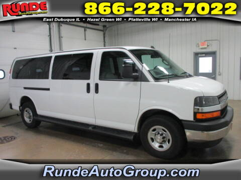 2019 Chevrolet Express Passenger for sale at Runde Chevrolet in East Dubuque IL