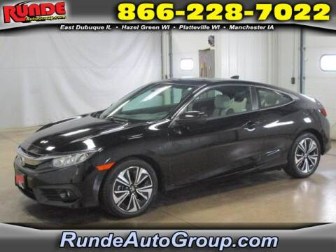 2018 Honda Civic for sale at Runde Chevrolet in East Dubuque IL