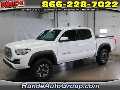 2017 Toyota Tacoma for sale at Runde Chevrolet in East Dubuque IL