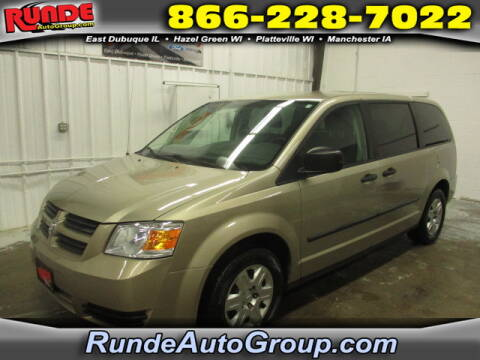 2008 Dodge Grand Caravan for sale at Runde Chevrolet in East Dubuque IL