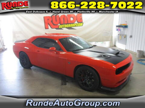 2016 Dodge Challenger for sale at Runde Chevrolet in East Dubuque IL