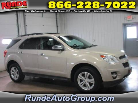 2011 Chevrolet Equinox for sale at Runde Chevrolet in East Dubuque IL
