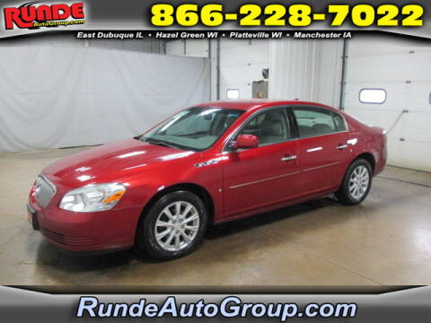2009 Buick Lucerne for sale at Runde Chevrolet in East Dubuque IL