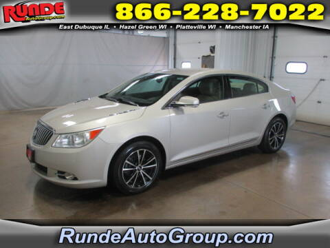 2013 Buick LaCrosse for sale at Runde Chevrolet in East Dubuque IL