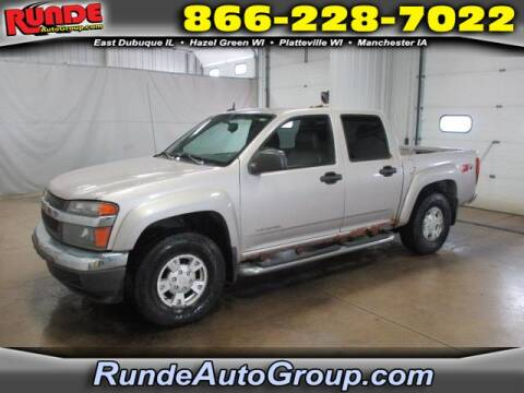 2005 Chevrolet Colorado for sale at Runde Chevrolet in East Dubuque IL