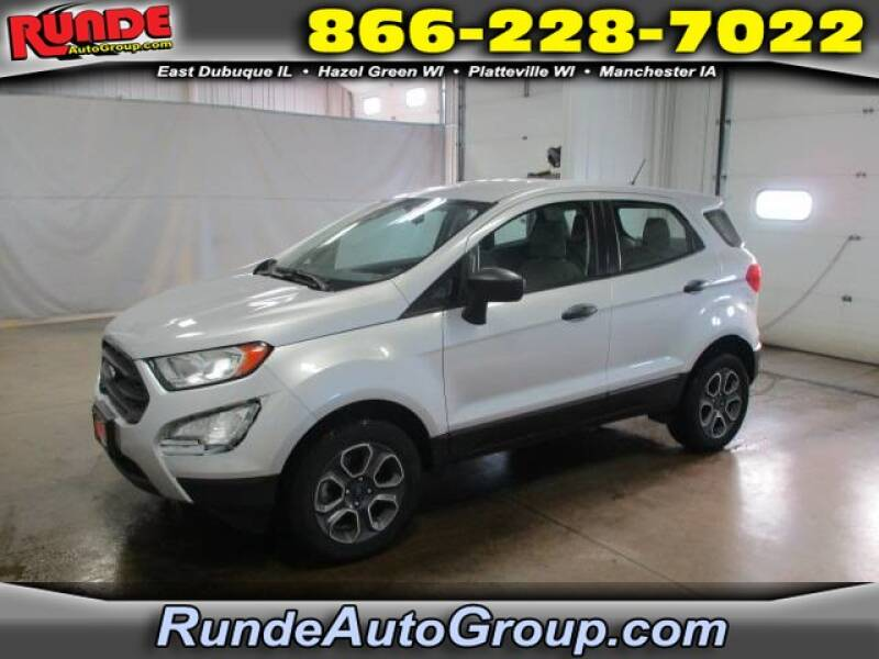 2018 Ford EcoSport for sale at Runde Chevrolet in East Dubuque IL