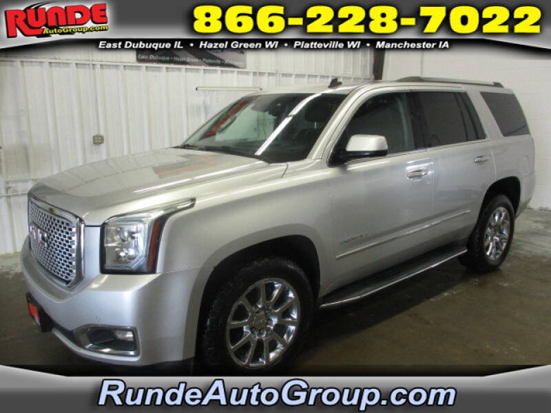2015 GMC Yukon for sale at Runde Chevrolet in East Dubuque IL