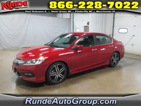 2017 Honda Accord for sale at Runde Chevrolet in East Dubuque IL