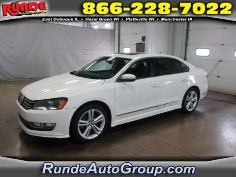 2013 Volkswagen Passat for sale at Runde Chevrolet in East Dubuque IL
