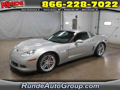 2006 Chevrolet Corvette for sale at Runde Chevrolet in East Dubuque IL