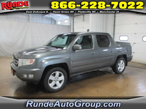 2011 Honda Ridgeline for sale at Runde Chevrolet in East Dubuque IL