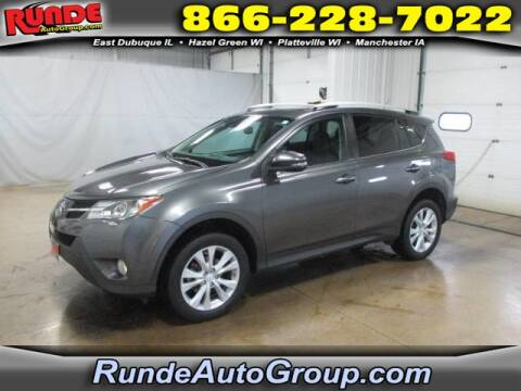 2014 Toyota RAV4 for sale at Runde Chevrolet in East Dubuque IL