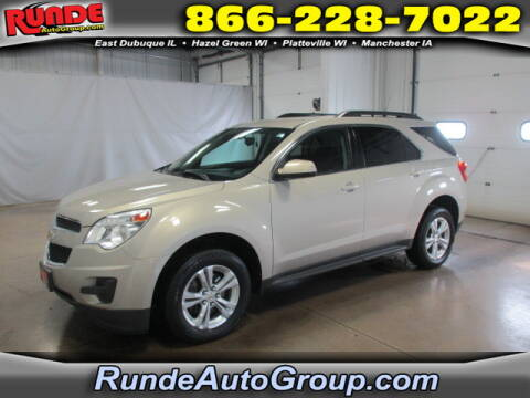 2012 Chevrolet Equinox for sale at Runde Chevrolet in East Dubuque IL