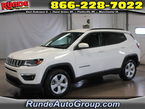2018 Jeep Compass for sale at Runde Chevrolet in East Dubuque IL