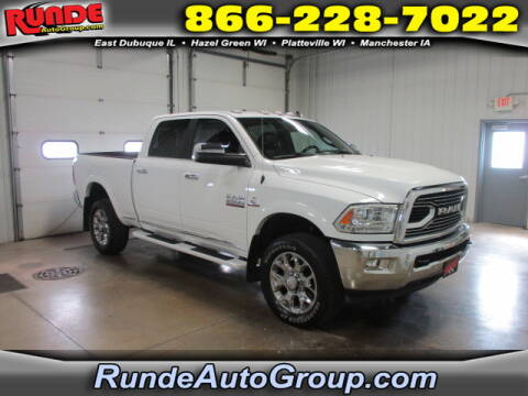 2018 RAM Ram Pickup 2500 for sale at Runde Chevrolet in East Dubuque IL