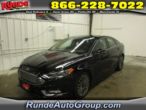 2017 Ford Fusion for sale at Runde Chevrolet in East Dubuque IL