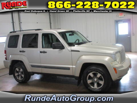 2008 Jeep Liberty for sale at Runde Chevrolet in East Dubuque IL