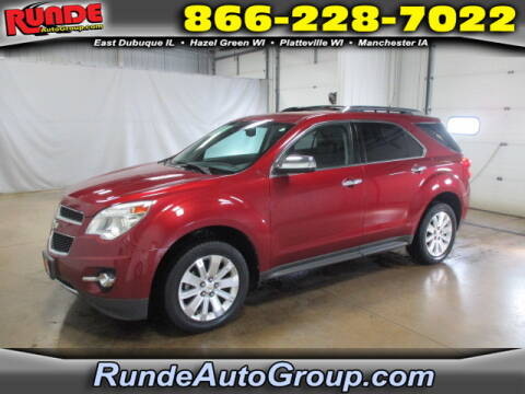 2010 Chevrolet Equinox for sale at Runde Chevrolet in East Dubuque IL
