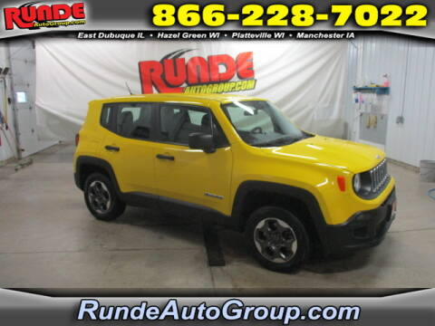 2016 Jeep Renegade for sale at Runde Chevrolet in East Dubuque IL