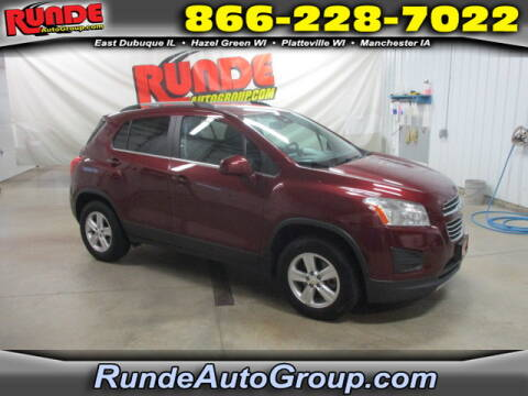 2016 Chevrolet Trax for sale at Runde Chevrolet in East Dubuque IL