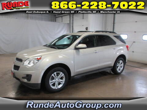 2014 Chevrolet Equinox for sale at Runde Chevrolet in East Dubuque IL