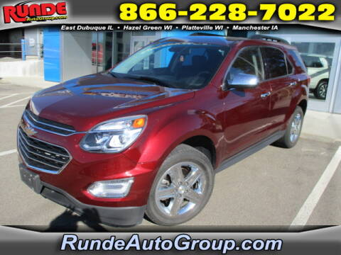 2016 Chevrolet Equinox for sale at Runde Chevrolet in East Dubuque IL