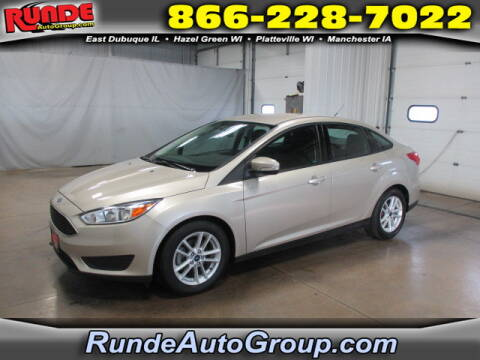 2017 Ford Focus for sale at Runde Chevrolet in East Dubuque IL