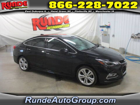 2017 Chevrolet Cruze for sale at Runde Chevrolet in East Dubuque IL