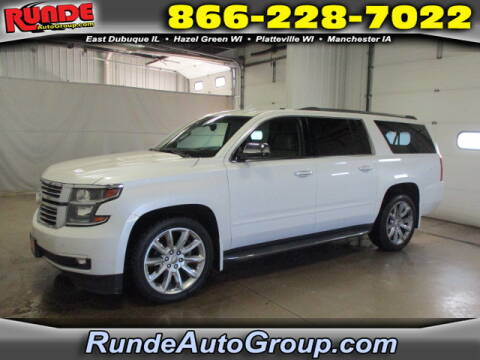 2016 Chevrolet Suburban for sale at Runde Chevrolet in East Dubuque IL