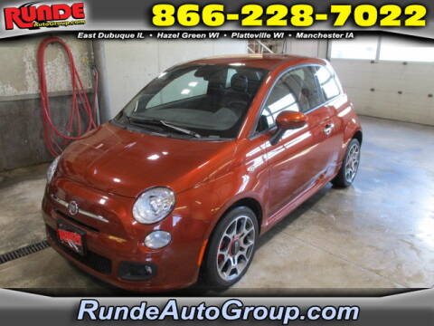2015 FIAT 500 for sale at Runde Chevrolet in East Dubuque IL