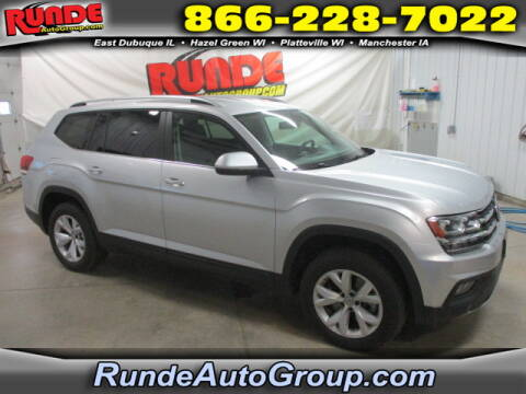 2018 Volkswagen Atlas for sale at Runde Chevrolet in East Dubuque IL