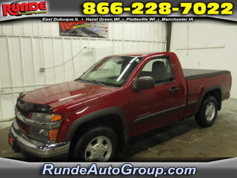 2004 Chevrolet Colorado for sale at Runde Chevrolet in East Dubuque IL